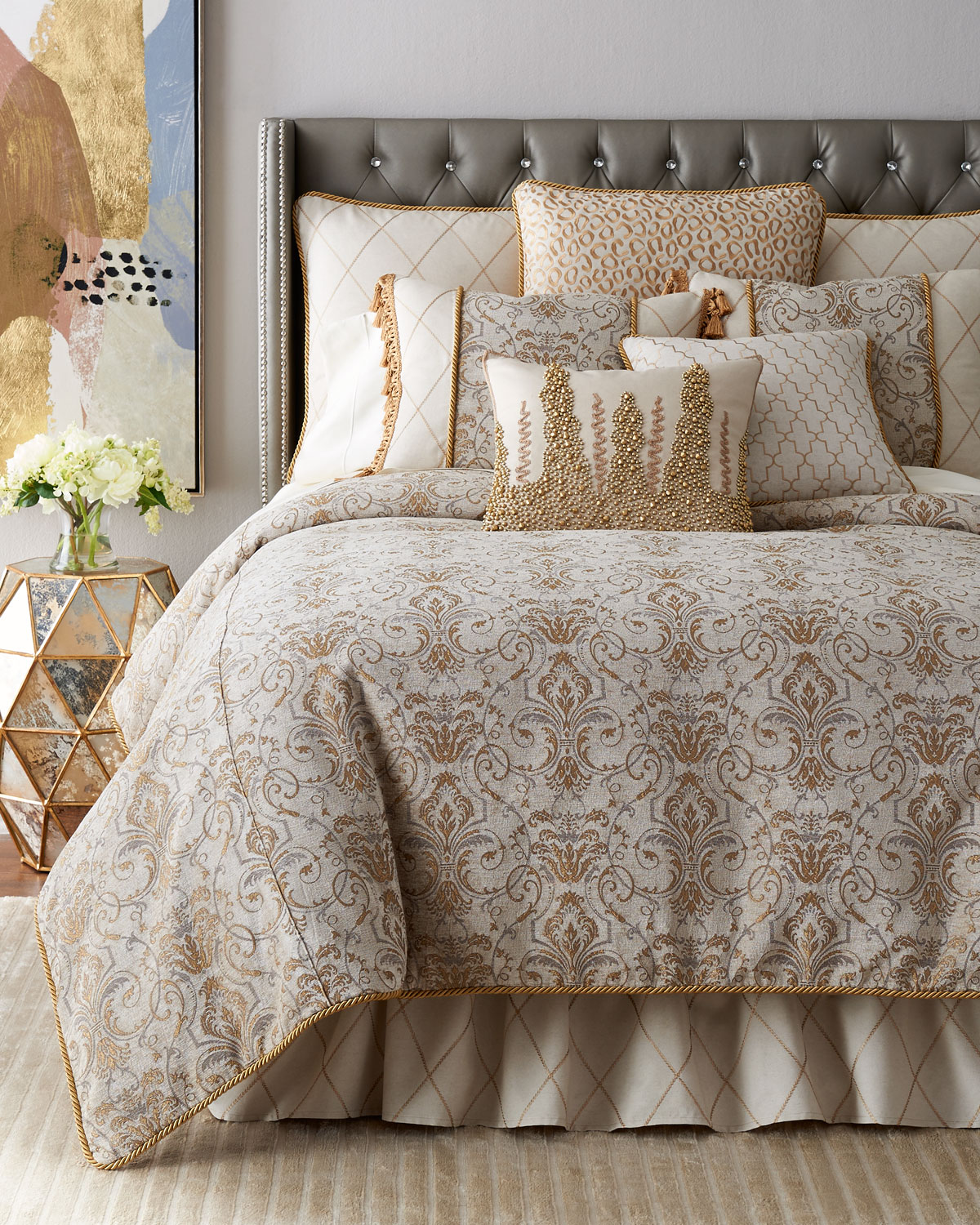 Queen Adeline Duvet Cover
