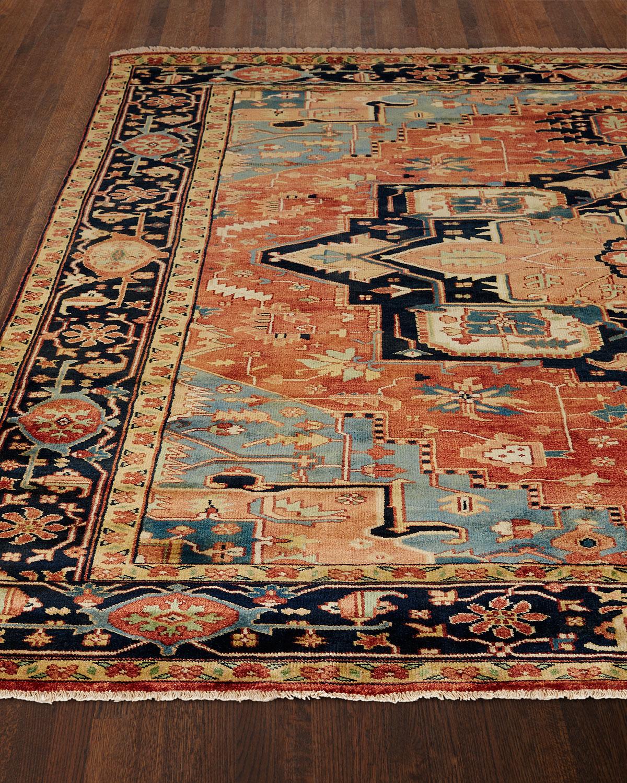 Rosso Fine Serapi Rug, 6' x 9'