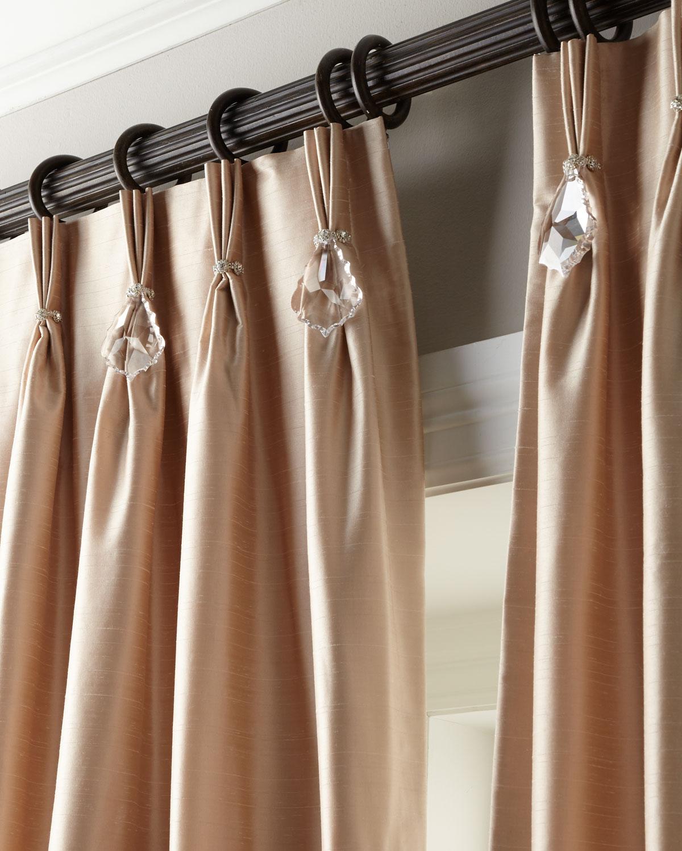 """Each 108""""L Pinch-Pleat Curtain"""