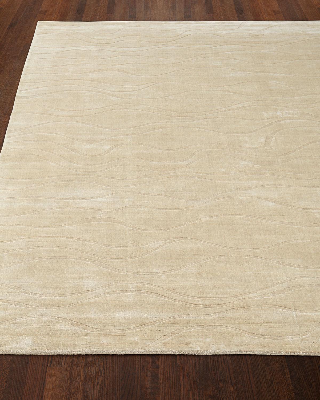 Moanna Ivory Rug, 5' x 8'