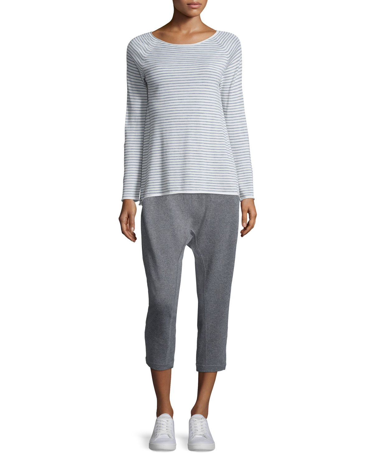 Slouchy Harem Thermal Pants