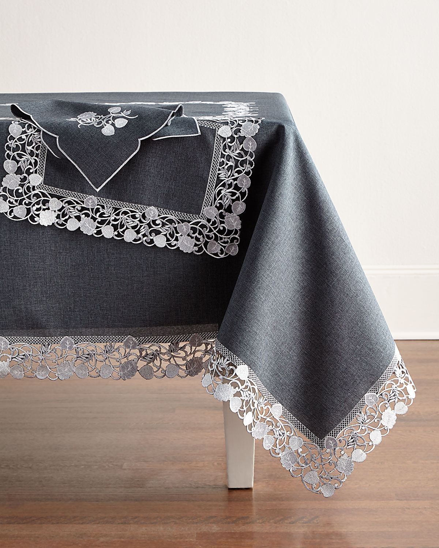"Talley 72"" x 108"" Tablecloth & 12 Napkins"