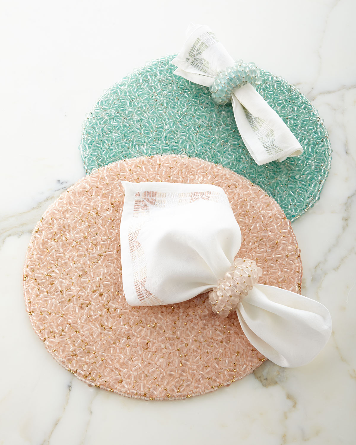 Frost Round Placemat