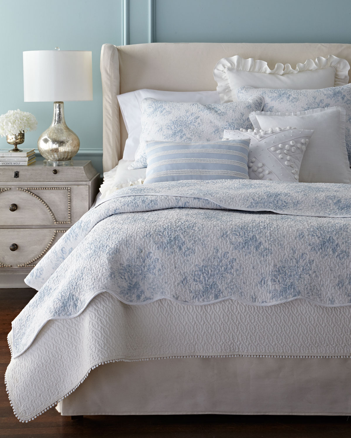 King 3-Piece Darvy Cable Quilt Set