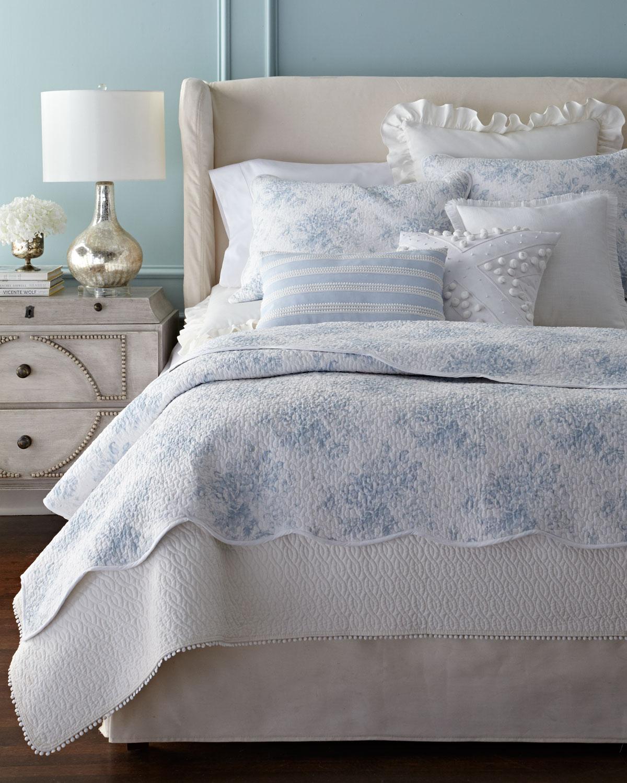 Mini Pompom Stripe Pillow