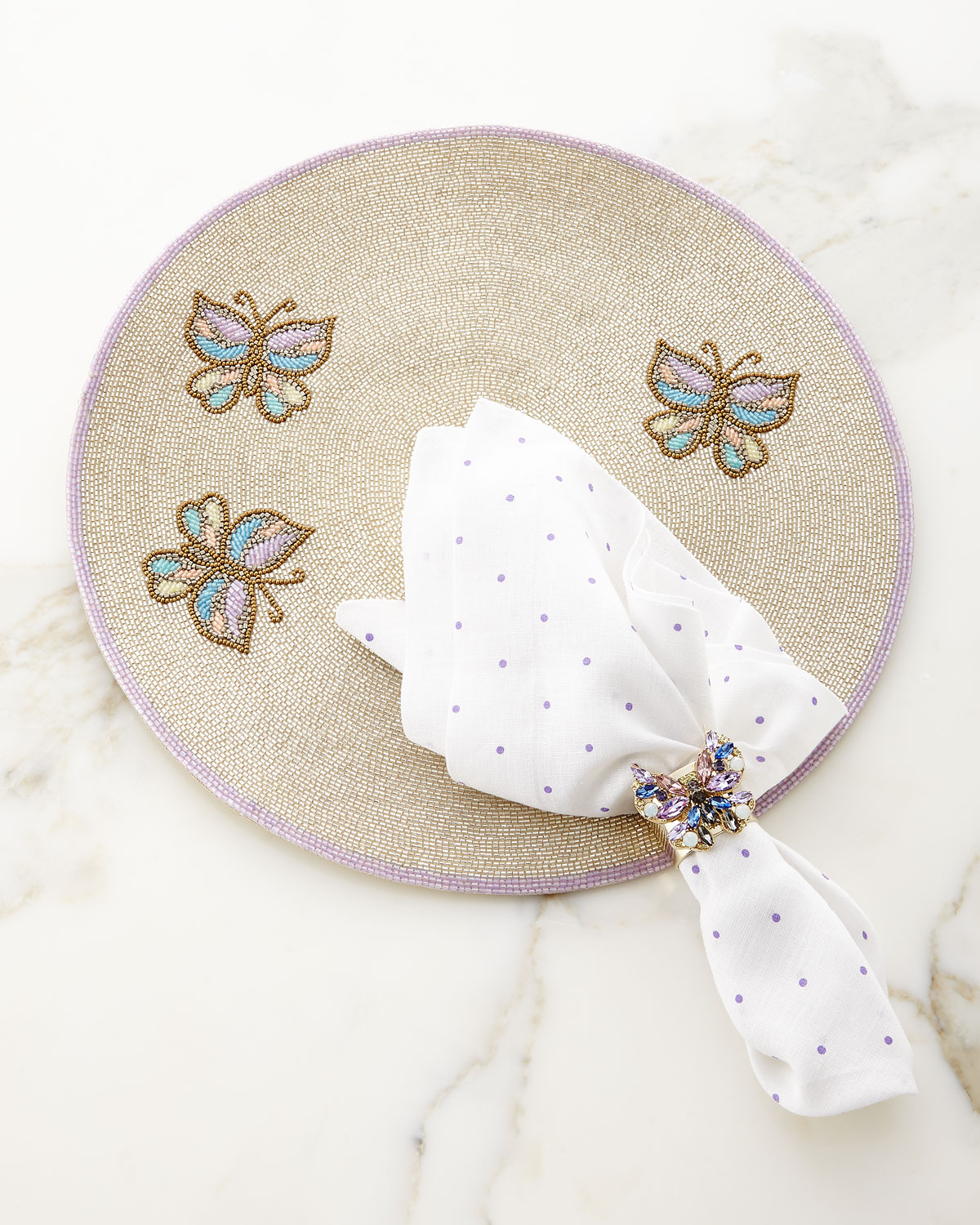 Butterfly Napkin Rings, Set of 2