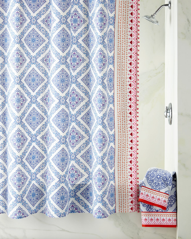 Mitta Periwinkle Shower Curtain