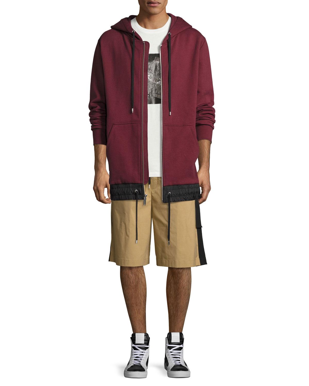 Durero Herringbone-Tape Shorts, Sand