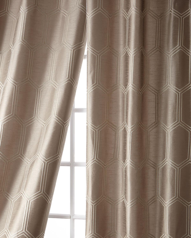 """Cylinder Taffeta Curtain, 96"""""""