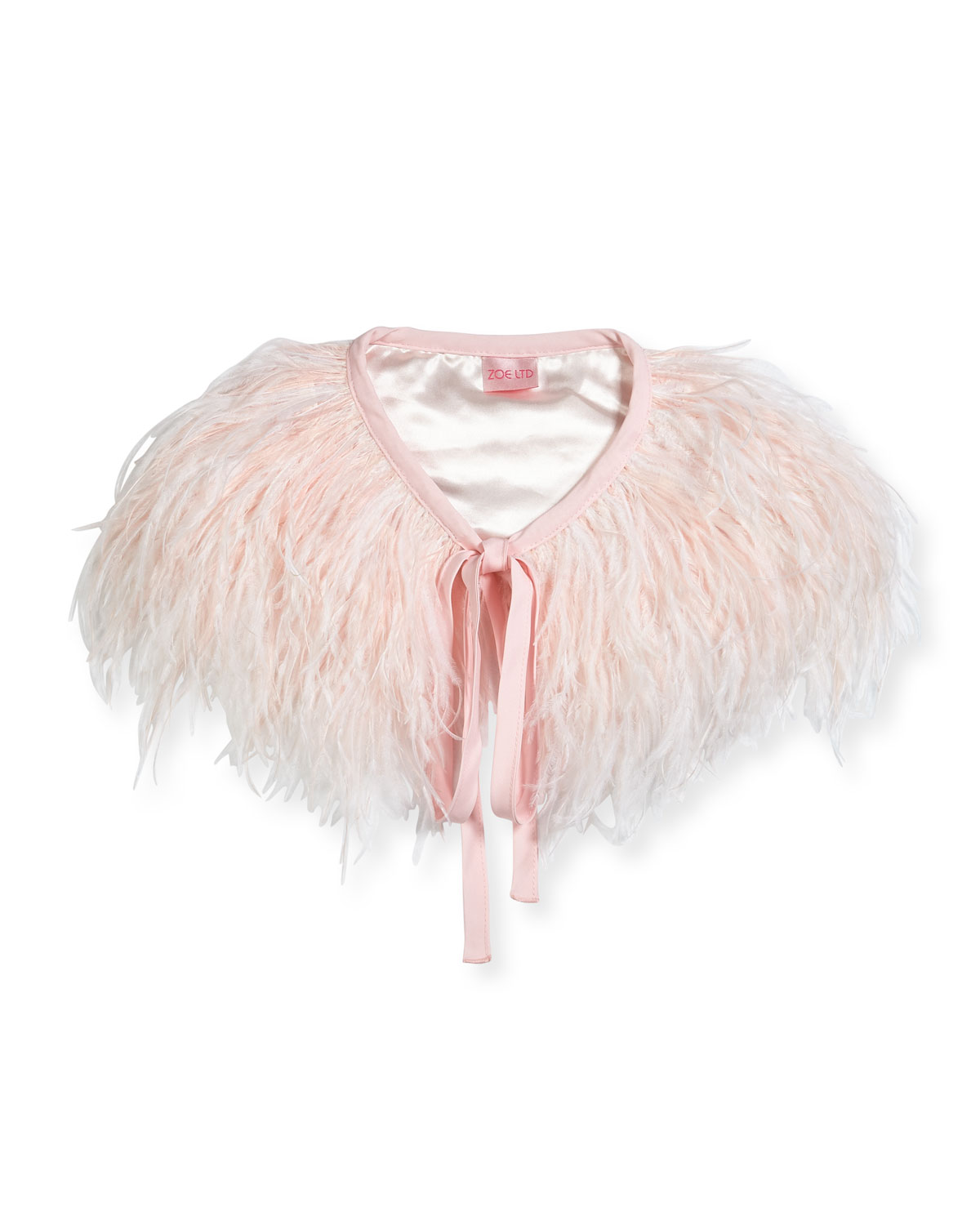 Feather Capelet, Toddler Girls' Sizes