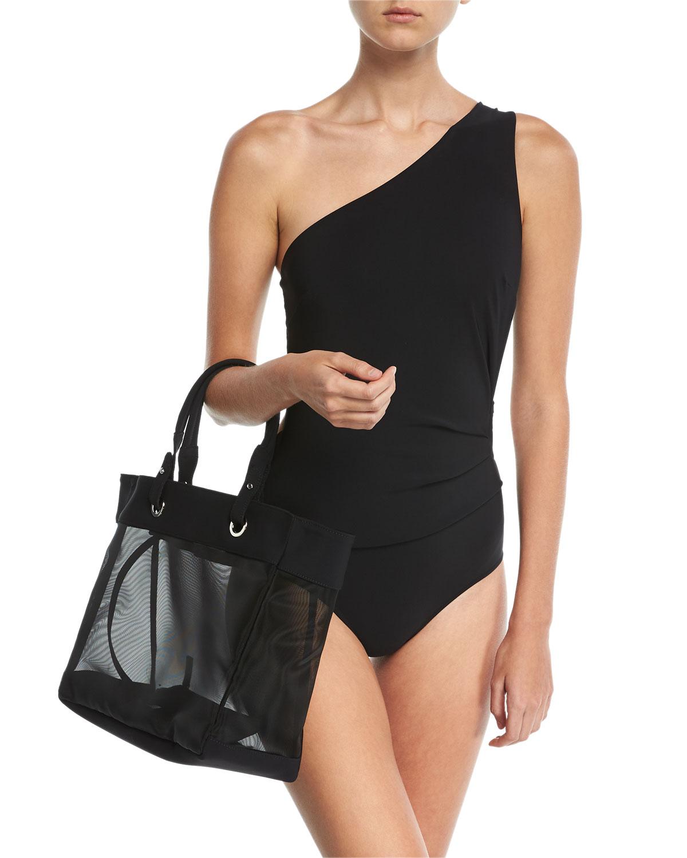 Teti One-Shoulder Cutout Swimsuit