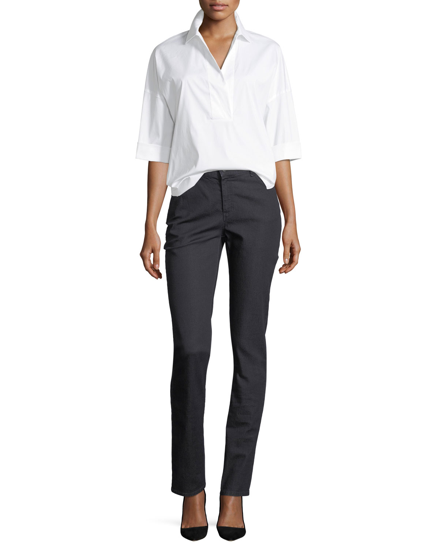 Thompson Colored Slim-Leg Jeans