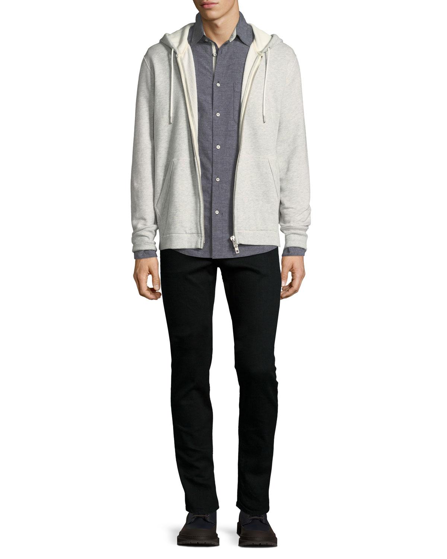 Standard Issue Fit 1 Slim-Skinny Jeans, Black