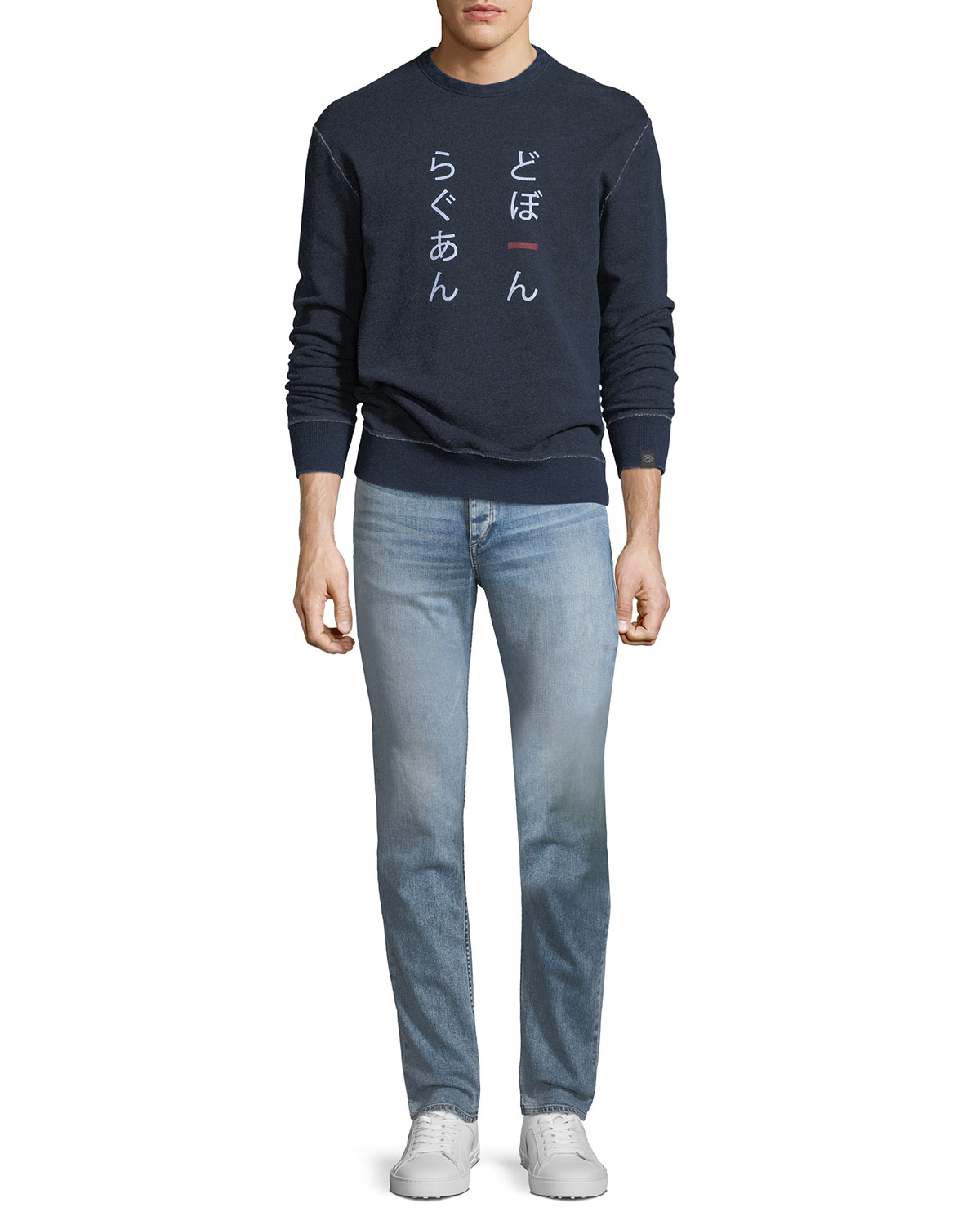 Men's Standard Issue Fit 1 Slim-Skinny Jeans, Double Up