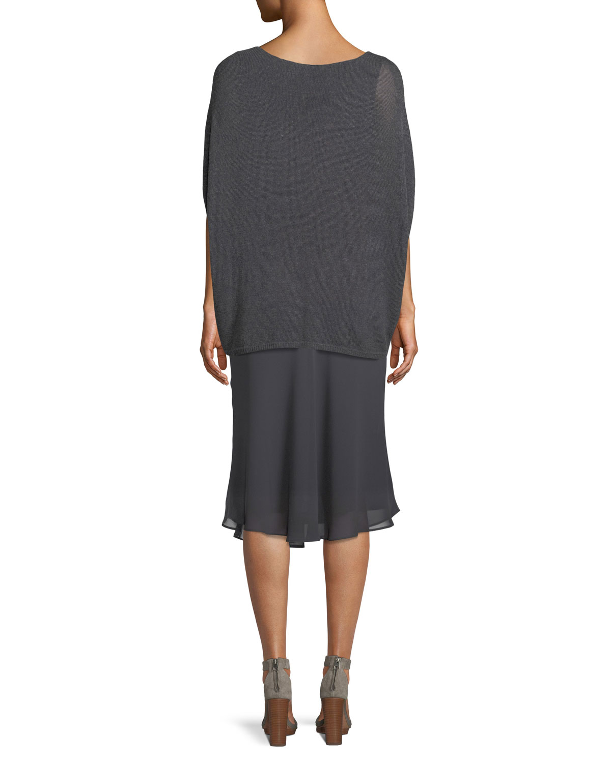 Paired Up Twirl Pull-On Skirt, Plus Size