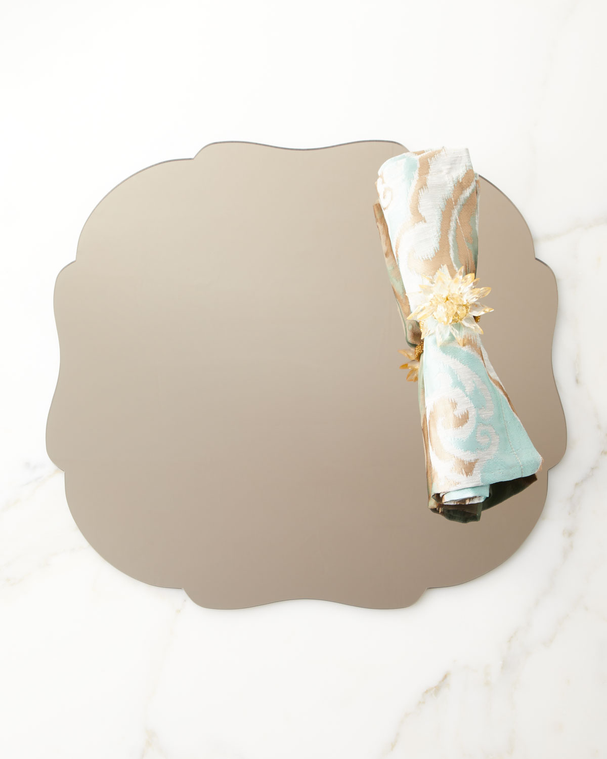 Taupe Mirror Placemat