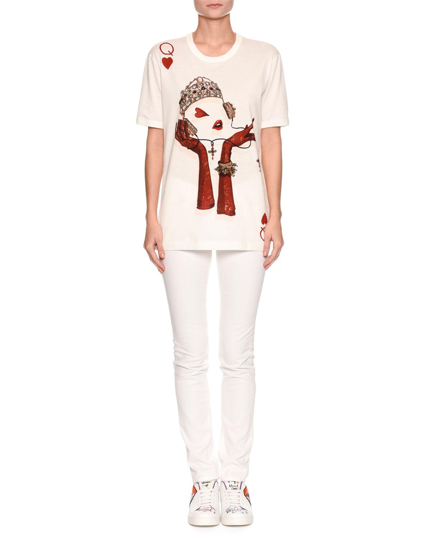 Short-Sleeve Queen of Hearts T-Shirt