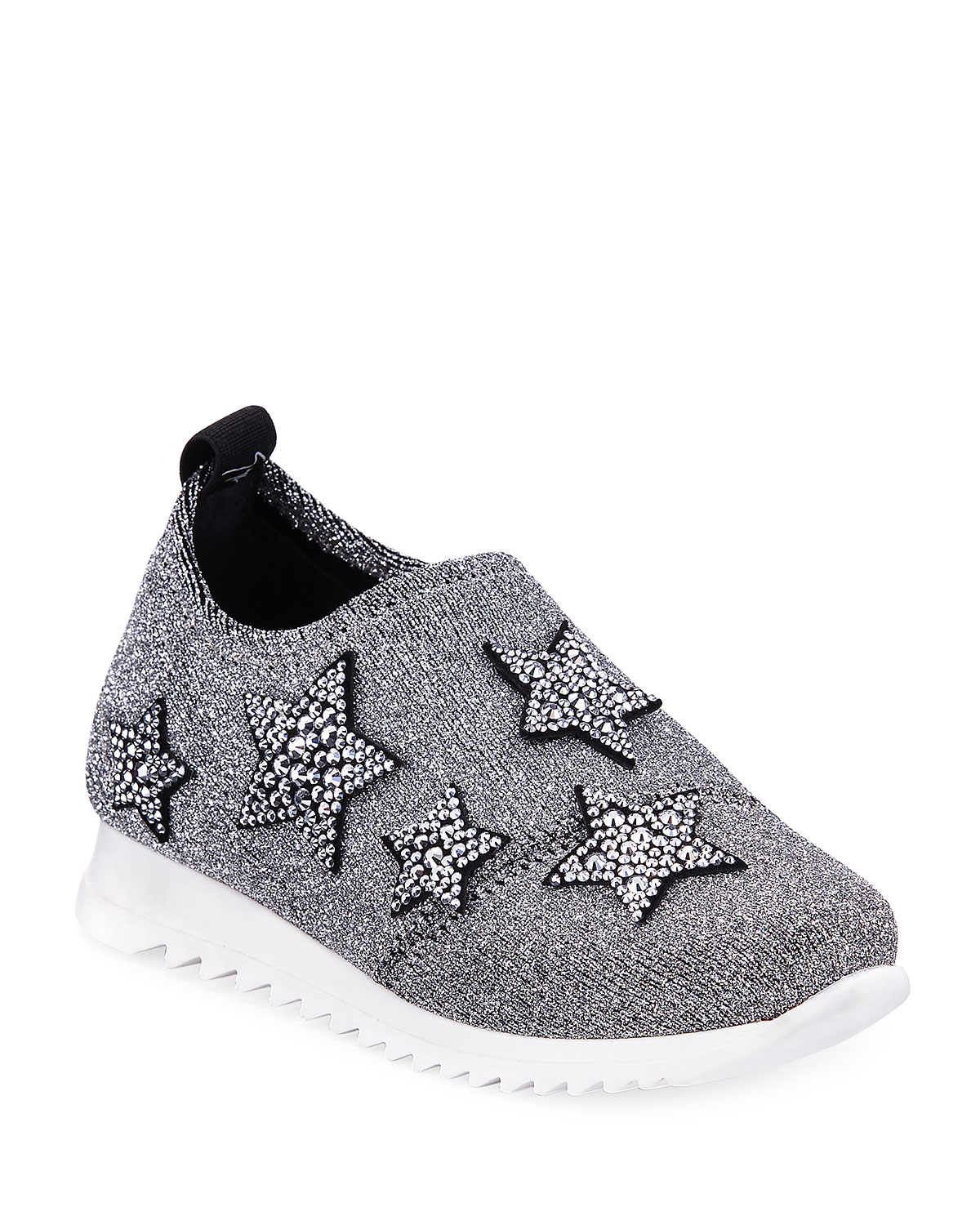 Natalie Sparkle Star Sneaker, Toddler Sizes 4-9
