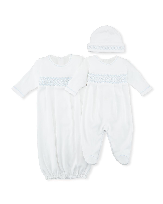 CLB Summer Pima Footie Playsuit, Size Newborn-9M