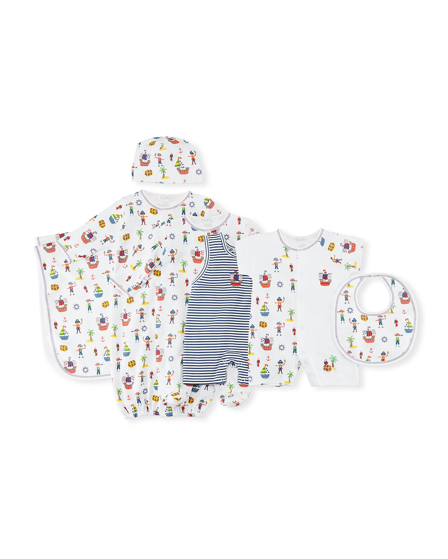 Buccaneers Printed Pima Baby Blanket
