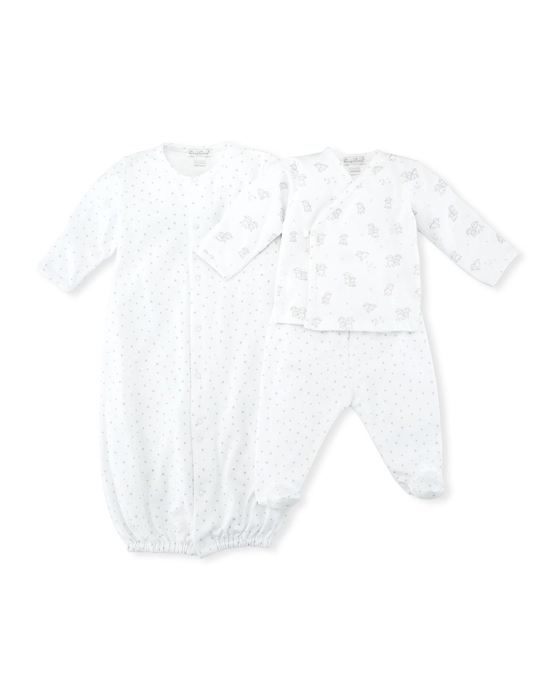 Sweetest Dreams Pima Convertible Gown, Size Newborn-S