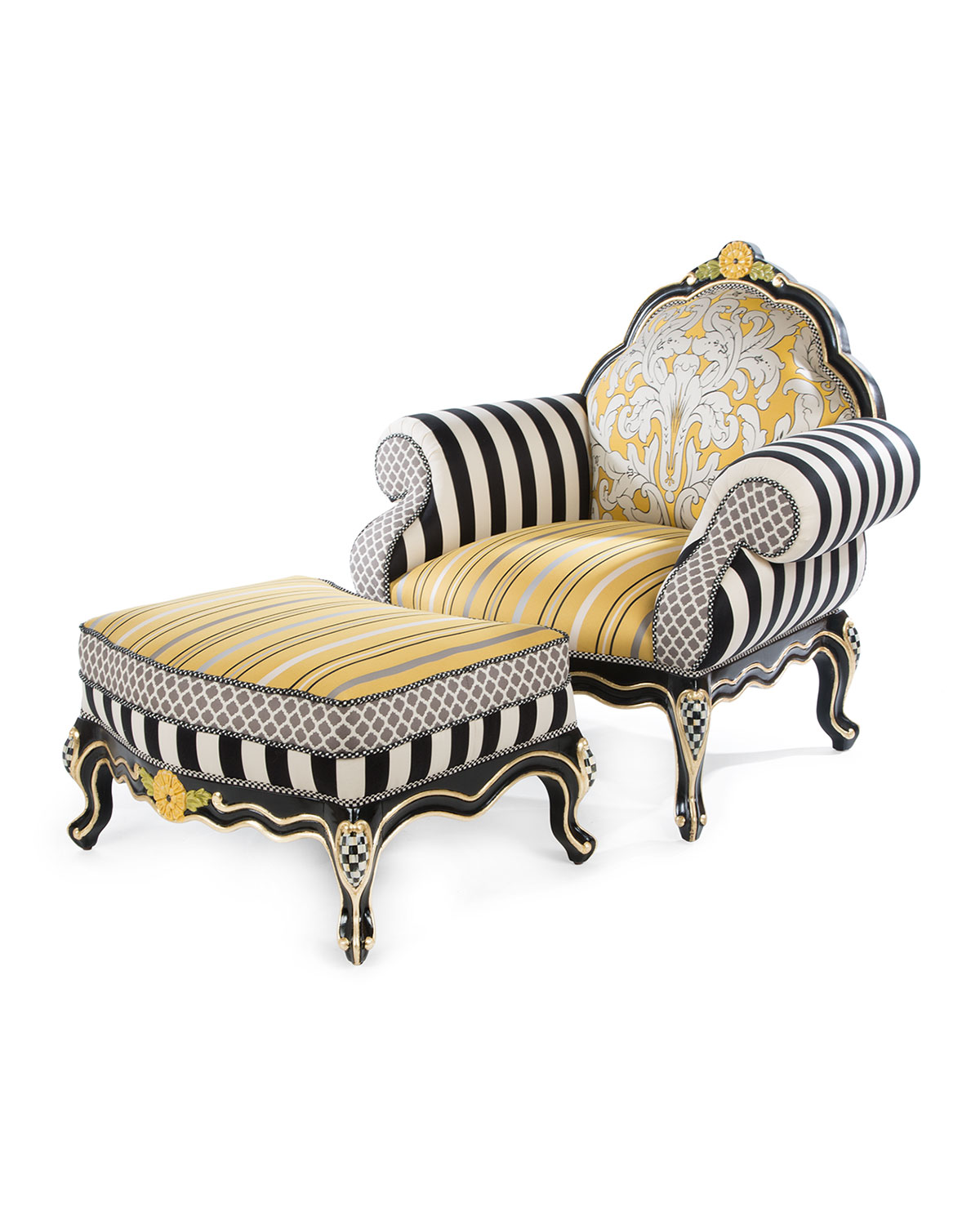 jonathan adler milano wing chair neiman marcus. Black Bedroom Furniture Sets. Home Design Ideas
