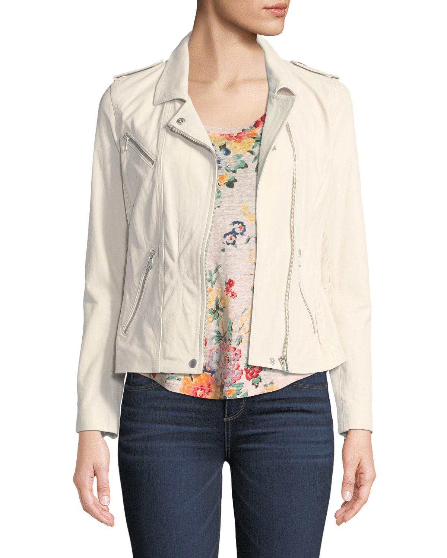 Scoop-Neck Floral-Print Linen Jersey Top