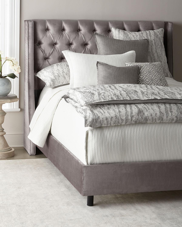 Aimee Velvet King Bed Neiman Marcus