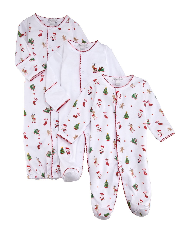 Kissy Kissy Dina Darlings Pima Convertible Gown, Size Newborn-S ...
