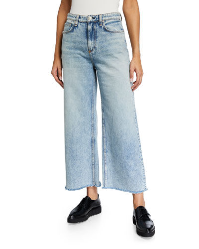 Ruth Super High-Rise Wide-Leg Jeans