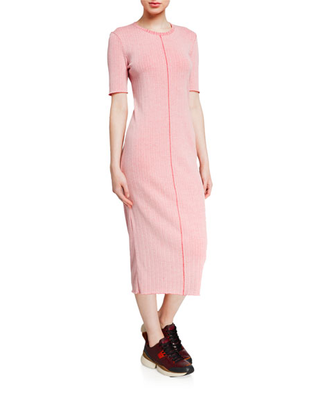 Rag & Bone Elina Ribbed Bodycon Dress