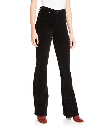 Beverly High-Rise Skinny Flare Jeans