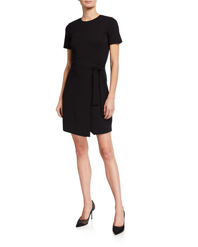 Jersey T-Shirt Wrap Dress