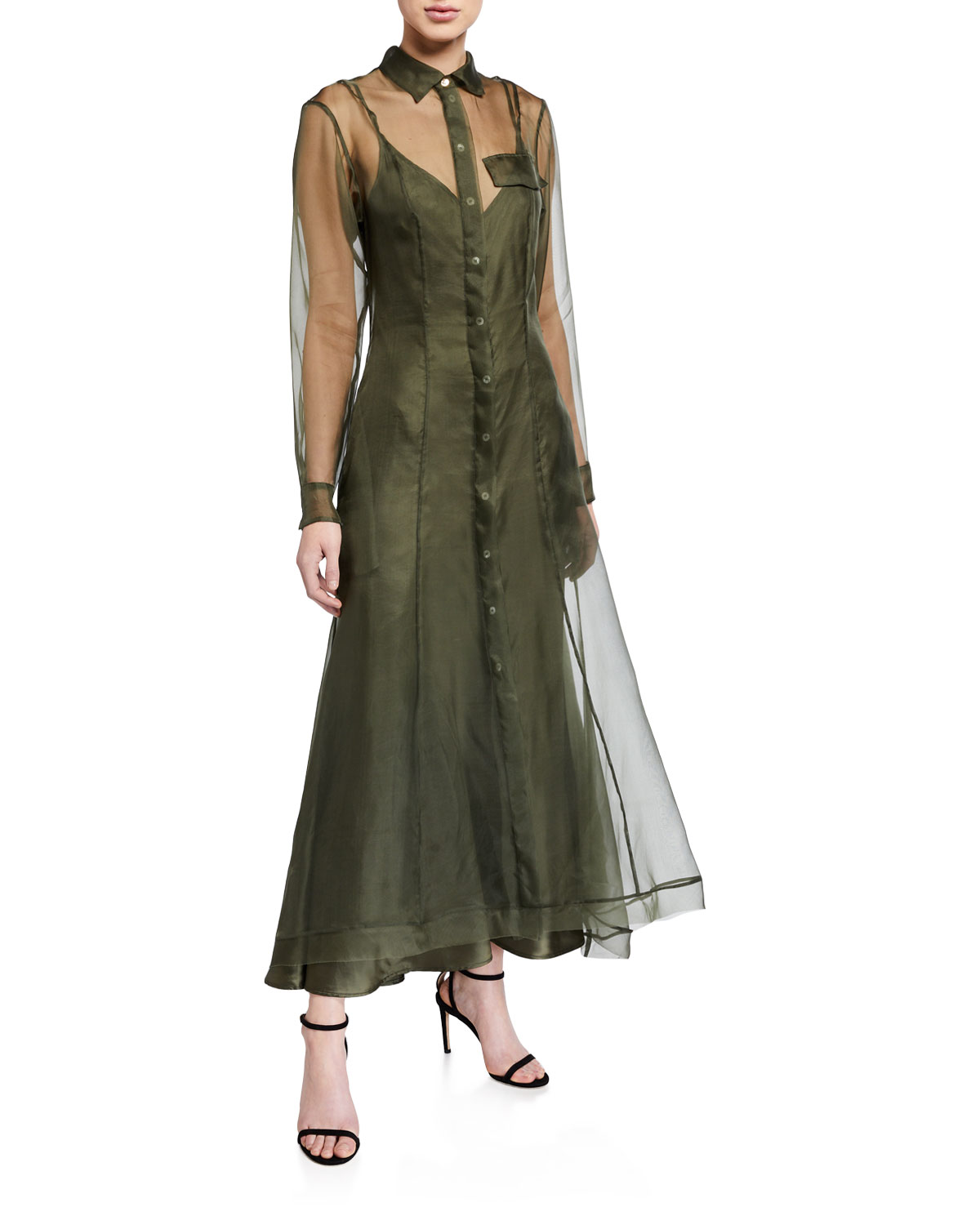 Maggie Marilyn Dresses KEEP IT TOGETHER SHEER ORGANZA DRESS