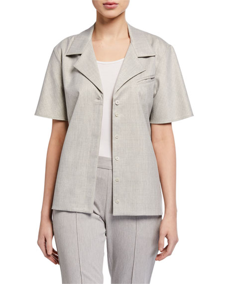 Maggie Marilyn Trust In Me Belted Button-Down Top