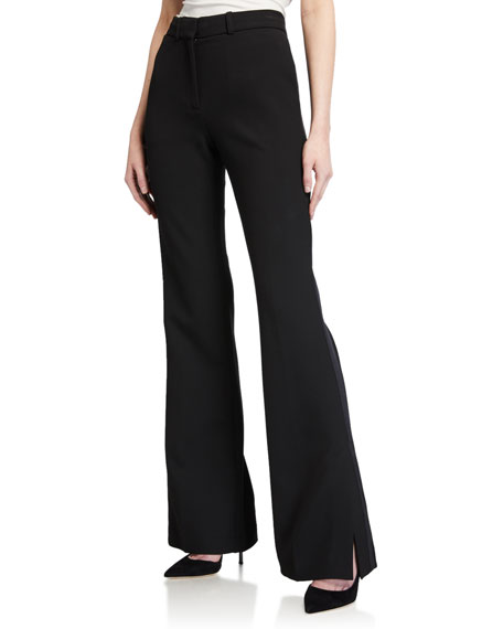 Victoria Victoria Beckham Split-Hem Tuxedo Trousers