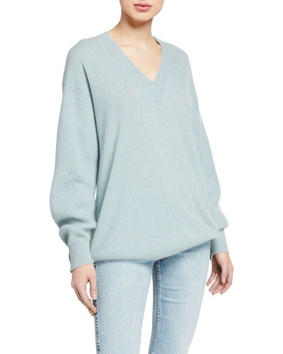 Logan Cashmere V-Neck Sweater