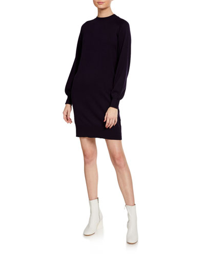 Madisson Blouson-Sleeve Dress