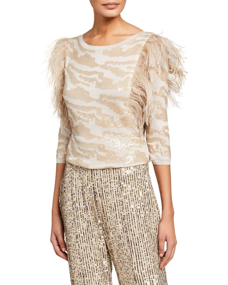 Le Superbe Rhapsody Feather Top