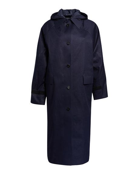 Kassl Hooded Original Maxi Trench Coat