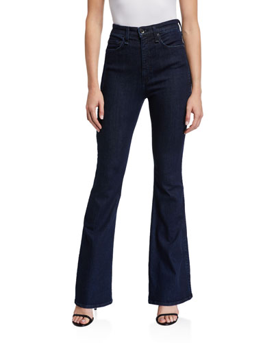Jane Super High-Rise Flare Jeans