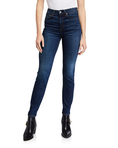 Nina High-Rise Cigarette Ankle Jeans