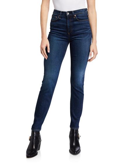 Rag & Bone Nina High-Rise Cigarette Ankle Jeans