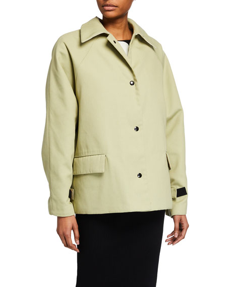 Kassl Reversible Sheepskin Patchwork Coat