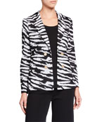 Misook Classic Animal Print Jacket and Matching Items
