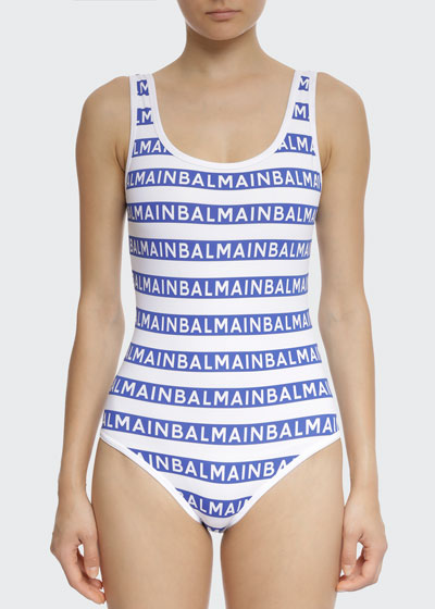 Icon Stripes Tank One-Piece Swimsuit