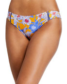 Letarte Ibiza Printed Hipster Bikini Bottom