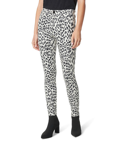 The Charlie Ankle Skinny Printed Jeans