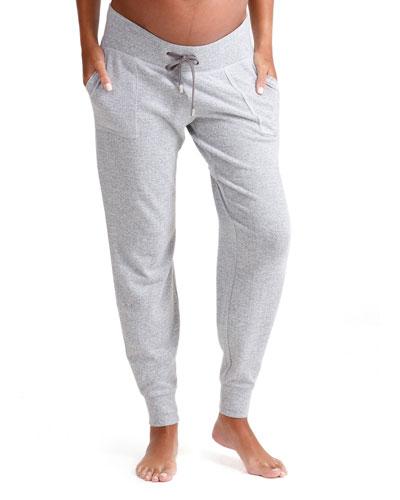 Maternity Cozy Knit Jogger Pants