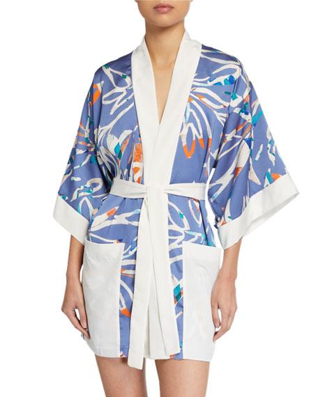 Shan Tokyo Printed Kimono Coverup